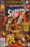 Cover for Adventures of Superman (DC, 1987 series) #476 [Newsstand]