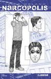 Cover for James Delano's Narcopolis (Avatar Press, 2008 series) #2 [Design Sketch]