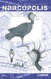 Cover for James Delano's Narcopolis (Avatar Press, 2008 series) #4 [Design Sketch]