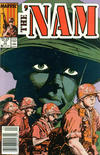 Cover for The 'Nam (Marvel, 1986 series) #17 [Newsstand Edition]