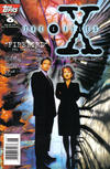 Cover for The X-Files (Topps, 1995 series) #6 [Newsstand Edition]