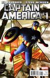 Cover for Captain America (Marvel, 2011 series) #1