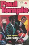 Cover for Paul Temple (Semic, 1970 series) #4/1971