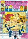 Cover for Marvel Universe Comic (Condor, 1991 series) #11