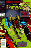 Cover Thumbnail for Spider-Man (1990 series) #51 [Newsstand Foil Edition]