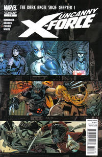 Cover Thumbnail for Uncanny X-Force (Marvel, 2010 series) #11 [2nd Printing]