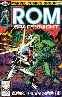 Cover Thumbnail for ROM (Marvel, 1979 series) #16 [Direct Edition]