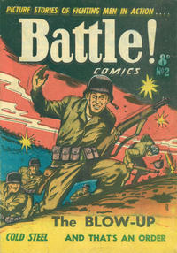 Cover Thumbnail for Battle! Comics (Horwitz, 1953 ? series) #2