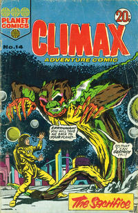 Cover Thumbnail for Climax Adventure Comic (K. G. Murray, 1962 ? series) #14