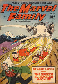 Cover Thumbnail for Marvel Family (Derby Publishing, 1950 series) #5 (50)
