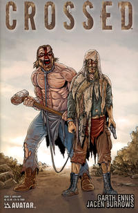 Cover Thumbnail for Crossed (Avatar Press, 2008 series) #6 [Auxiliary Cover - Jacen Burrows]