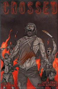 Cover Thumbnail for Crossed (Avatar Press, 2008 series) #6 [Incentive Red Crossed Cover - Jacen Burrows]