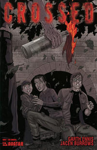 Cover Thumbnail for Crossed (Avatar Press, 2008 series) #7 [Red Crossed Order Incentive]