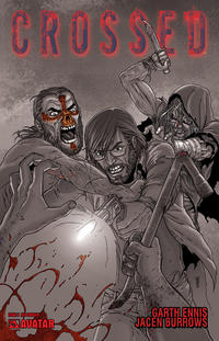 Cover Thumbnail for Crossed (Avatar Press, 2008 series) #8 [Red Crossed]