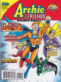 Cover Thumbnail for Archie & Friends Double Digest Magazine (Archie, 2011 series) #7 [Direct Edition]