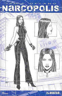 Cover Thumbnail for James Delano's Narcopolis (Avatar Press, 2008 series) #1 [Design Sketch]