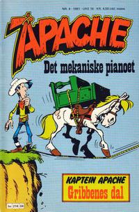 Cover Thumbnail for Apache (Semic, 1980 series) #4/1981