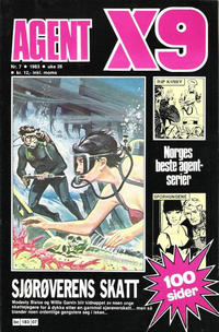 Cover Thumbnail for Agent X9 (Semic, 1976 series) #7/1983