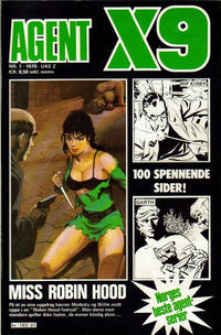 Cover Thumbnail for Agent X9 (Semic, 1976 series) #1/1978