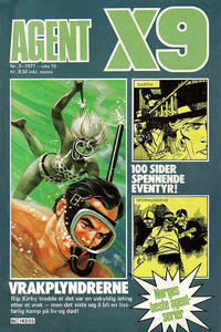 Cover Thumbnail for Agent X9 (Semic, 1976 series) #3/1977