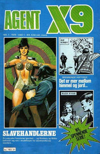 Cover Thumbnail for Agent X9 (Semic, 1976 series) #1/1979