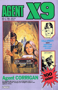Cover Thumbnail for Agent X9 (Semic, 1976 series) #6/1984