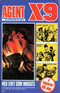 Cover Thumbnail for Agent X9 (Nordisk Forlag, 1974 series) #1/1974