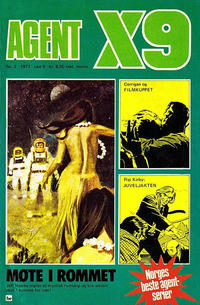 Cover Thumbnail for Agent X9 (Semic, 1976 series) #2/1977