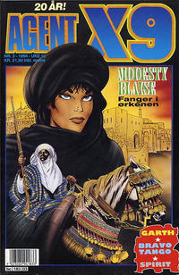 Cover Thumbnail for Agent X9 (Semic, 1976 series) #3/1994
