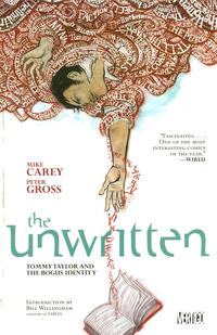Cover Thumbnail for The Unwritten (DC, 2010 series) #1 - Tommy Taylor and the Bogus Identity