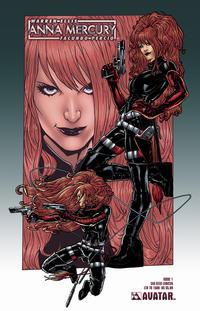 Cover Thumbnail for Anna Mercury (Avatar Press, 2008 series) #1 [SDCC]