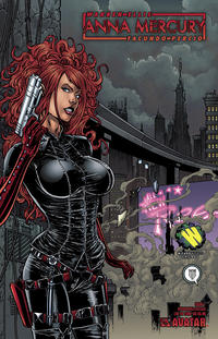 Cover Thumbnail for Anna Mercury (Avatar Press, 2008 series) #1 [Wizardworld Chicago]