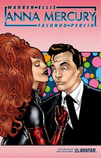 Cover Thumbnail for Anna Mercury (Avatar Press, 2008 series) #1 [New York Comicon]