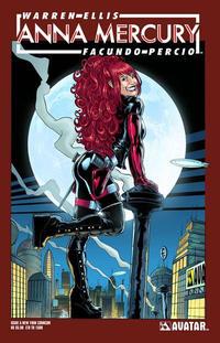 Cover Thumbnail for Anna Mercury (Avatar Press, 2008 series) #5 [New York Comicon]