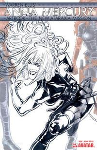 Cover Thumbnail for Warren Ellis' Anna Mercury Artbook: The New Ataraxia Mission (Avatar Press, 2009 series)  [Design Sketch]