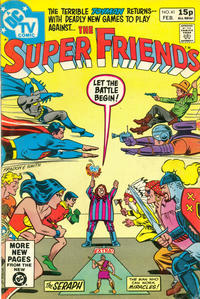 Cover Thumbnail for Super Friends (DC, 1976 series) #41 [British Price Variant]