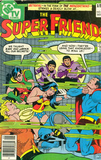 Cover Thumbnail for Super Friends (DC, 1976 series) #24 [British Price Variant]