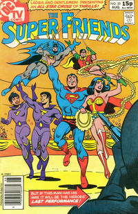 Cover Thumbnail for Super Friends (DC, 1976 series) #35 [British Price]