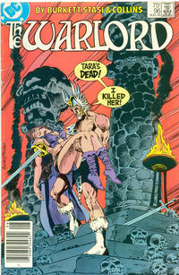 Cover Thumbnail for Warlord (DC, 1976 series) #96 [Newsstand Edition]