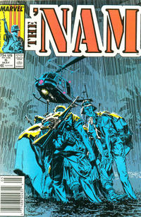 Cover Thumbnail for The 'Nam (Marvel, 1986 series) #6 [Newsstand Edition]