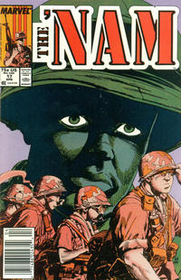 Cover Thumbnail for The 'Nam (Marvel, 1986 series) #17 [Newsstand]