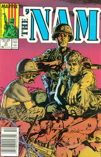 Cover Thumbnail for The 'Nam (Marvel, 1986 series) #11 [Newsstand]