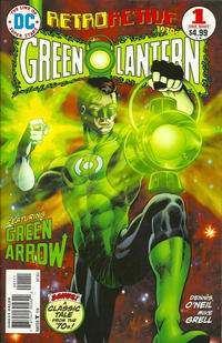 Cover Thumbnail for DC Retroactive: Green Lantern - The '70s (DC, 2011 series) #1