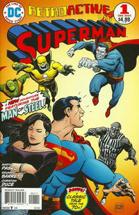 Cover Thumbnail for DC Retroactive: Superman - The '70s (DC, 2011 series) #1