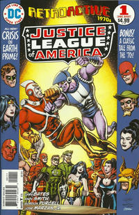 Cover Thumbnail for DC Retroactive: JLA - The '70s (DC, 2011 series) #1