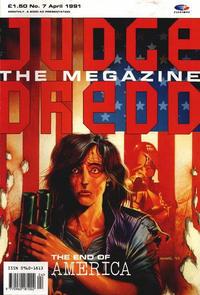 Cover Thumbnail for Judge Dredd the Megazine (Fleetway Publications, 1990 series) #7