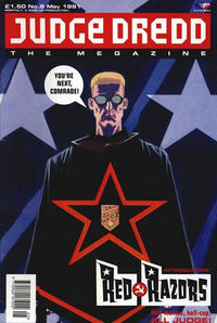 Cover Thumbnail for Judge Dredd the Megazine (Fleetway Publications, 1990 series) #8