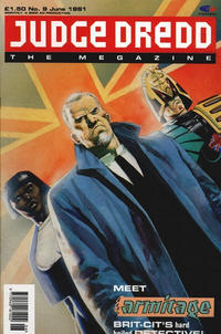 Cover Thumbnail for Judge Dredd the Megazine (Fleetway Publications, 1990 series) #9