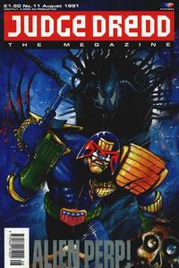 Cover Thumbnail for Judge Dredd the Megazine (Fleetway Publications, 1990 series) #11
