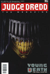 Cover Thumbnail for Judge Dredd the Megazine (Fleetway Publications, 1990 series) #12